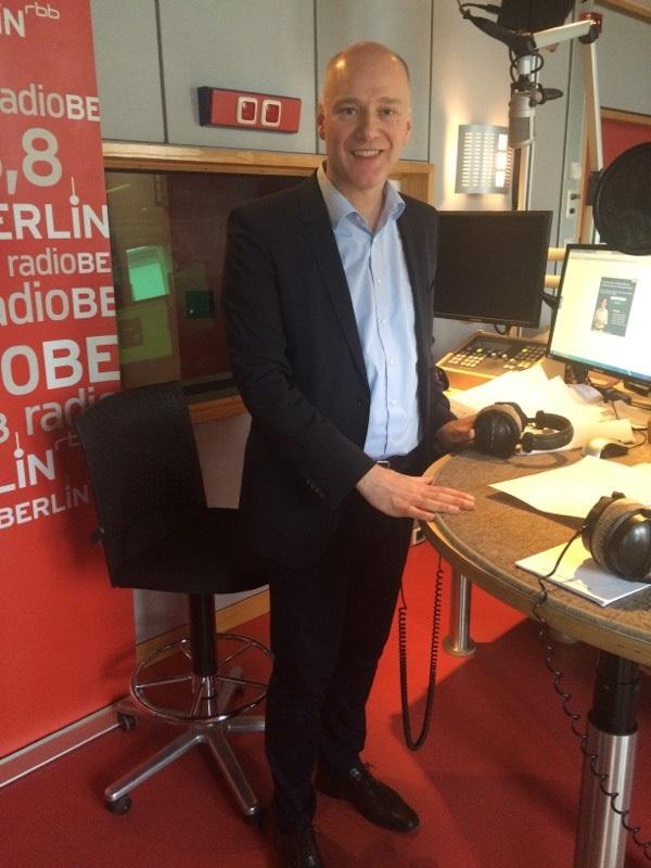 Dirk Eilinghoff bei RadioBerlin