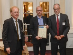 Norbert Bernhard, Matthias Urbach und Otfried Jarren