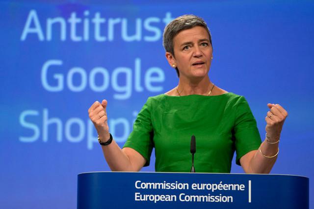 Margrethe Vestager verhängt Strafe gegen Google