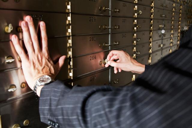 Bankschließfach