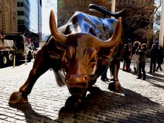 Bulle vor New Yorks Börse