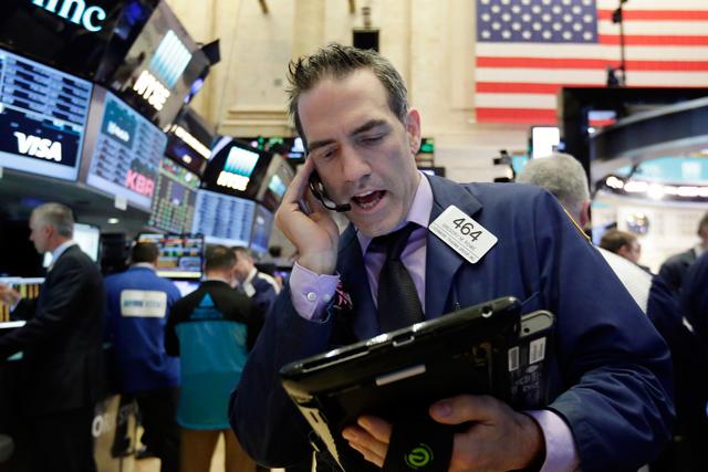 Broker in der Wall Street