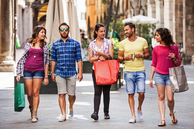 Shoppen in Italien