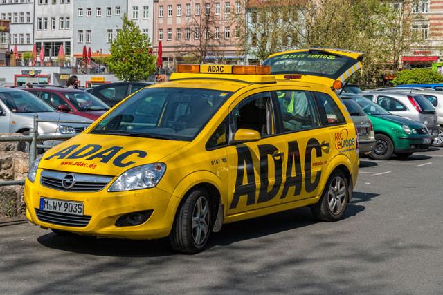ADAC-Fahrzeug