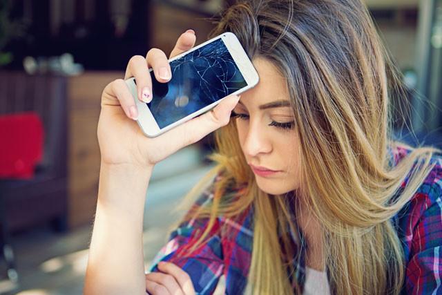 Handy kaputt – Laune schlecht