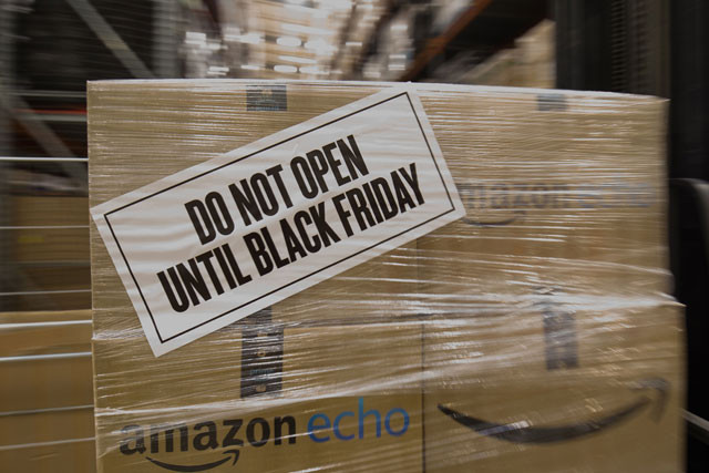 Amazon bereitet sich auf den Black Friday vor