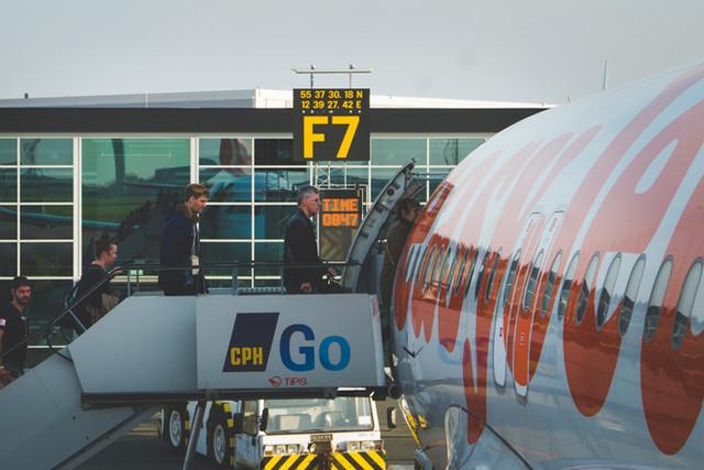 Boarding bei Easyjet