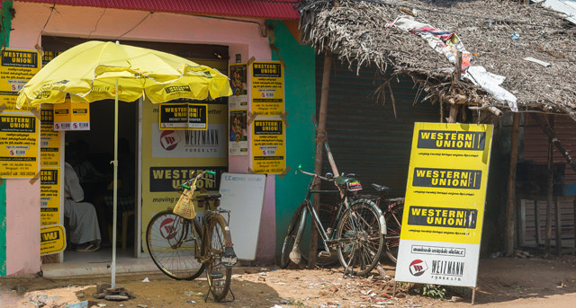 Western Union in Indien