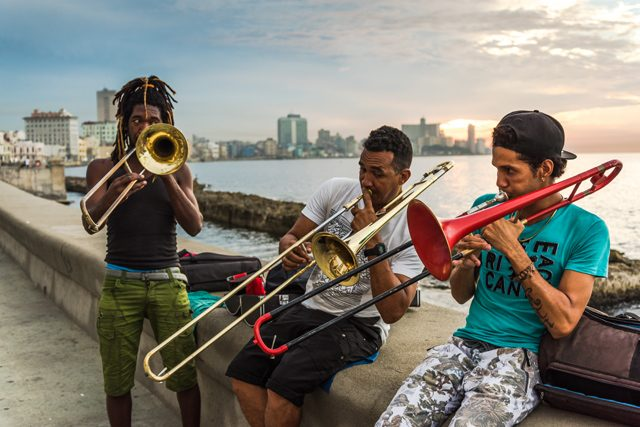 Musiker auf Kuba