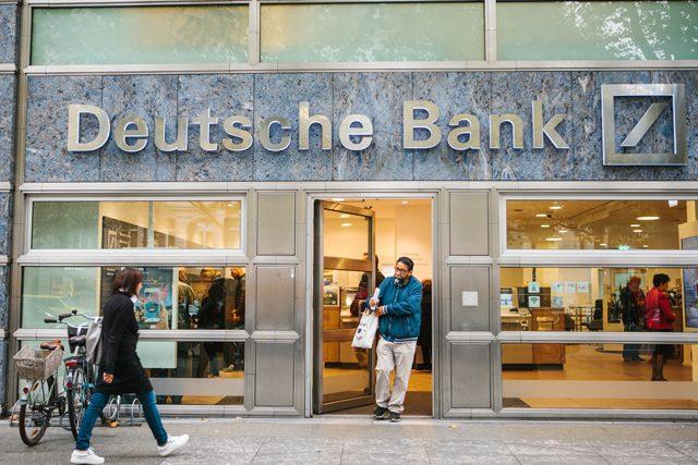 Deutsche-Bank-Filiale in Berlin