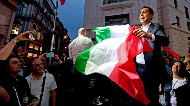 Luigi Di Maio, Chef der Fünf-Sterne-Bewegung