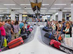 Gepäckband am Flughafen