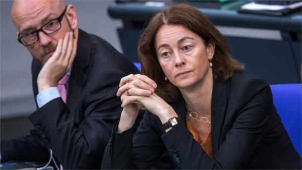 Justizministerin Barley bei der Debatte im Bundestag zur Musterklage.