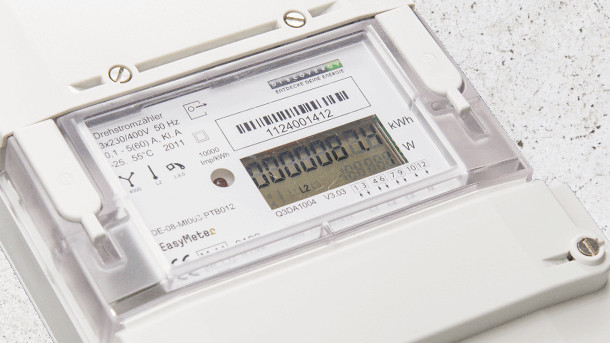 Intelligenter Stromzähler von Discovergy