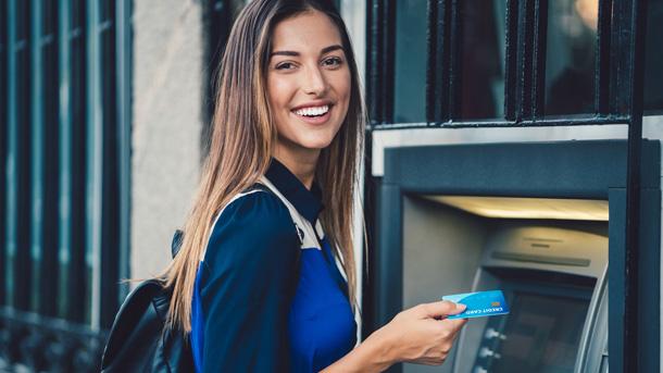 Geld abheben mit Kreditkarte