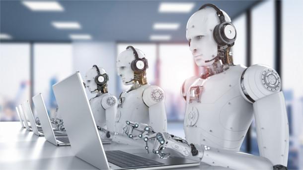 Roboter in der Hotline