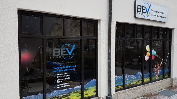 Firmensitz der BEV in München