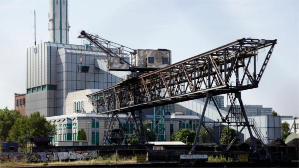 Heizkraftwerk des Versorgers EVO in Offenbach