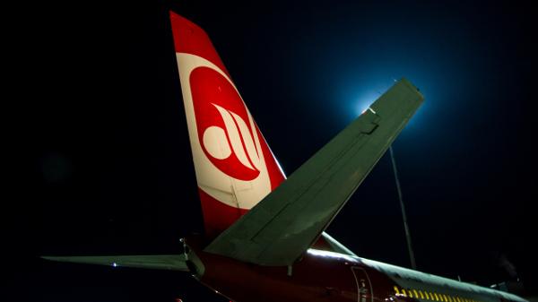 Foto von einem Air Berlin Flugzeug