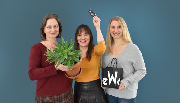 Finanztip-Redakteurinnen Ines Rutschmann, Josefine Lietzau und Sara Zinnecker