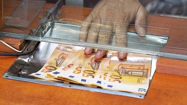 Geld einzahlen