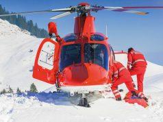 Rettung im Ski-Urlaub