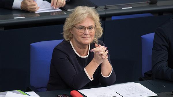 Verbraucherministerin Christine Lambrecht