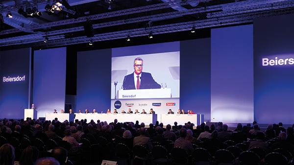 Beiersdorf Hauptversammlung