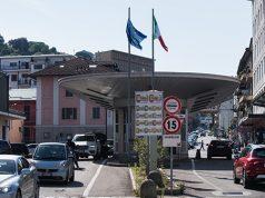 Italienische Grenze