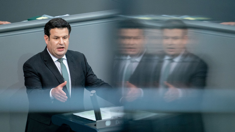 Hubertus Heil im Bundestag
