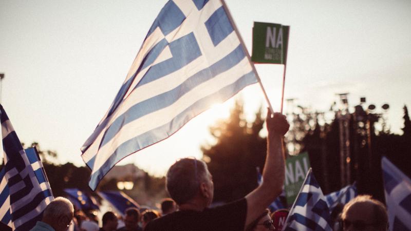 Griechenland Fahne