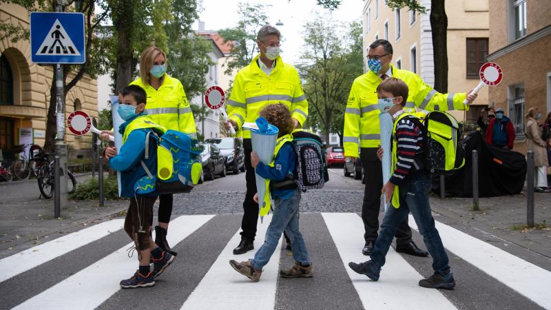 Erster Schultag in Bayern