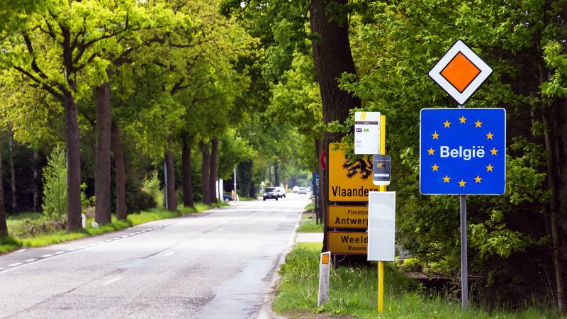 Deutsche Grenze zu Belgien