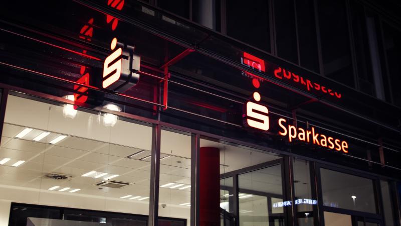 Sparkassen-Filiale