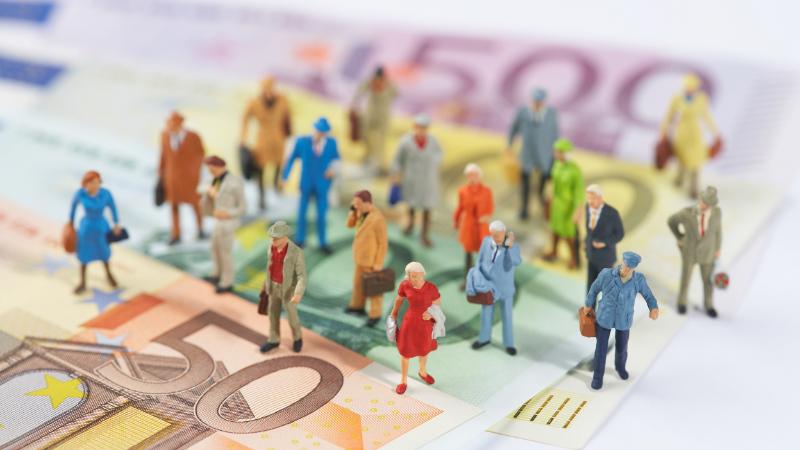 Figuren auf Geldscheinen