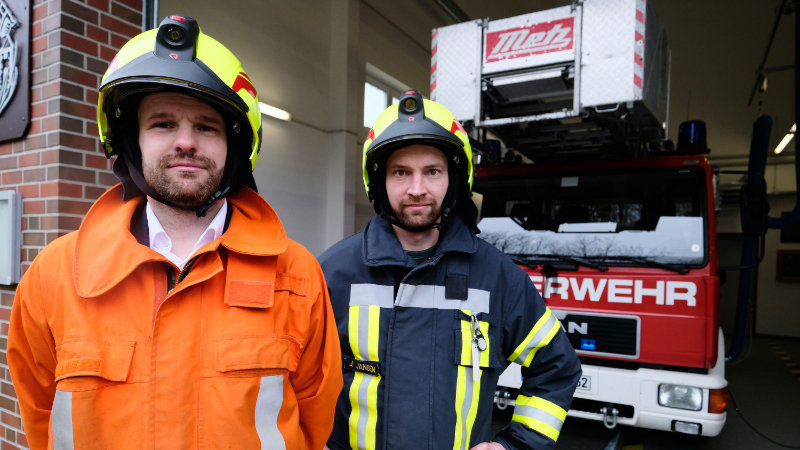 Freiwillige Feuerwehr auf Wangerooge