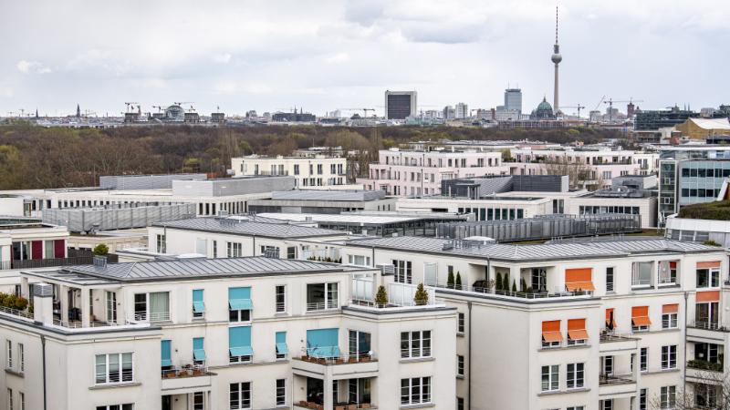 Die Dächer Berlins