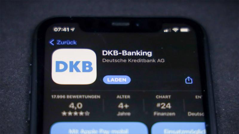 Banking-App der DKB