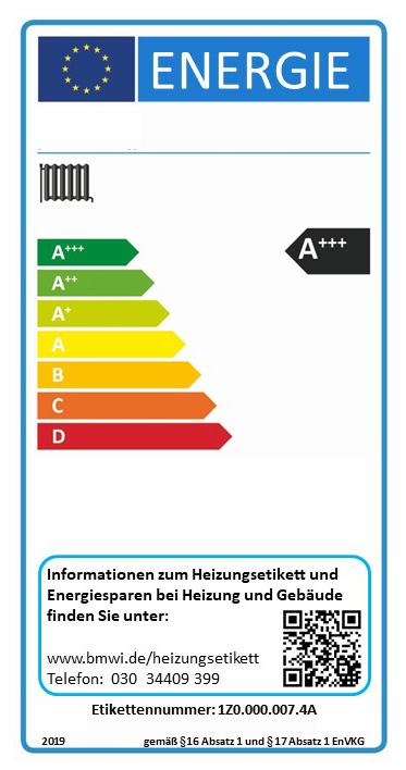Energielabel Heizung Energieeffiziente Heizungsanlagen Erkennen