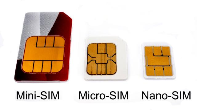nano sim und micro sim unterschied