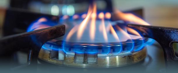 Gasherd-Flamme