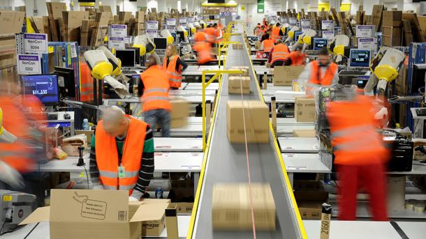 Bild Paketversand bei Amazon