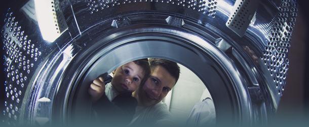 Waschmaschine von Innen