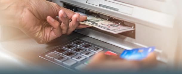 Geldautomat - Abheben in Fremdwährung
