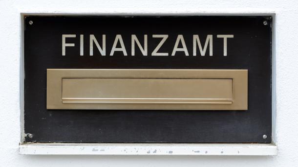 Briefkasten vom Finanzamt
