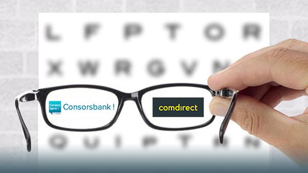 Genau hinschauen bei Comdirect und Consorsbank