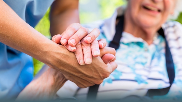 Hilfe bei der Pflege
