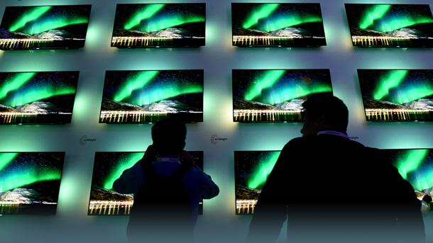 Fernseher auf der Ifa 2017 (Archivbild)