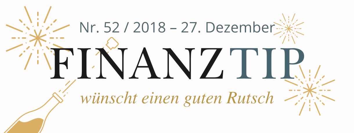Nr. 52 / 2018 - 27. Dezember