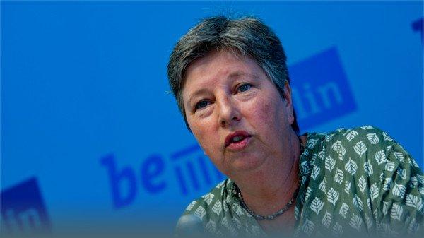 Berlins Wohnungssenatorin Katrin Lompscher
